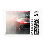 Caucho ardiente timbres postales