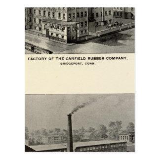 Caucho Co de Canfield Tarjeta Postal