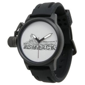 Caucho del negro del protector de la corona de relojes de pulsera