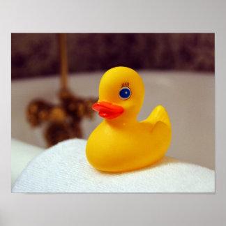 Caucho Ducky Póster