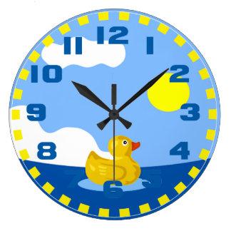 Caucho Ducky Reloj Redondo Grande