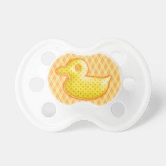 Caucho modelado de moda Ducky Chupete De Bebé