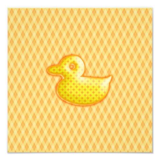 Caucho modelado de moda Ducky Fotografias