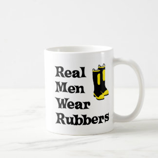 Cauchos reales del desgaste de hombres taza