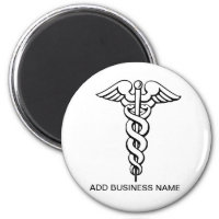 CAUDEUSUS MERCHANDISE FOR DOCTOR'S BUSINESS MAGNET
