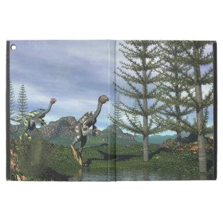 "Caudipteryx dinosaurs - 3D render iPad Pro 12.9"" Case"