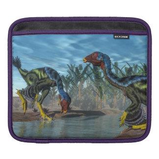 Caudipteryx dinosaurs - 3D render Sleeve For iPads