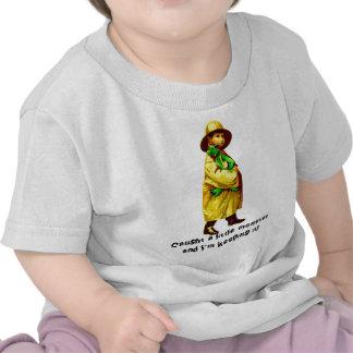 Caught A Little Monster T-shirt