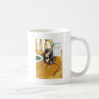 Caught Classic White Coffee Mug
