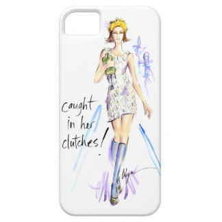 Caught In Her Clutches! iPhone SE/5/5s Case