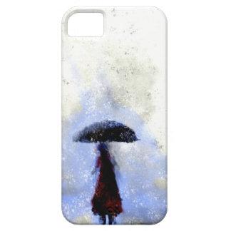 Caught in the Rain Phone Case
