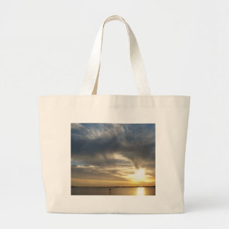 Caught In the sun Large Tote Bag