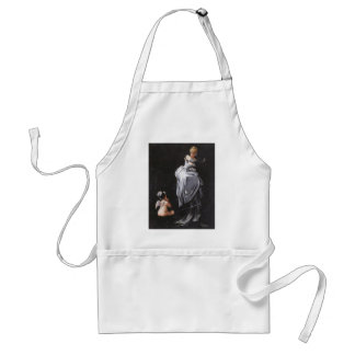 Caught in the Web ~ Adult Apron