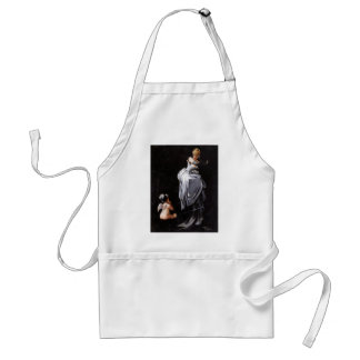Caught in the Web by Luis Ricardo Falero ~ Adult Apron