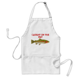 Caught on the Fry Adult Apron