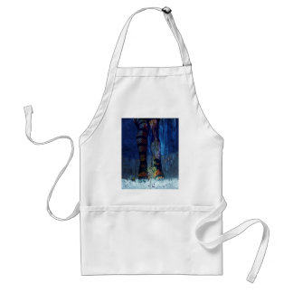 CAUGHT ~ UNDER DRESSED FOR THIS STORM.jpg Adult Apron