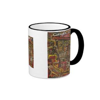 caught up coffee mug