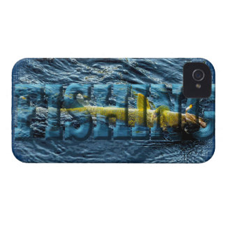 Caught Walleye, Pickerel Fishing Design Case-Mate iPhone 4 Case