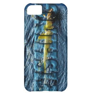 Caught Walleye, Pickerel Fishing Design iPhone 5C Cases