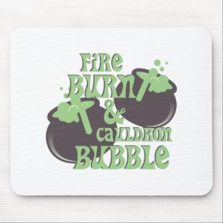 Cauldrom Bubble Mouse Pad