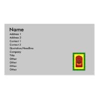 Cauldron boiling business card