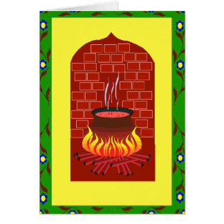 Cauldron boiling card