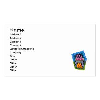 Cauldron Business Card Template