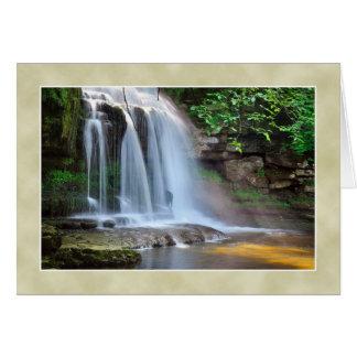 Cauldron Falls, West Burton -  The Yorkshire Dales Card