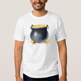 Cauldron full of gold coins T-Shirt