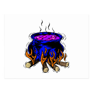 Cauldron Postcard