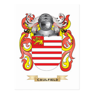 Caulfield Coat of Arms Postcards