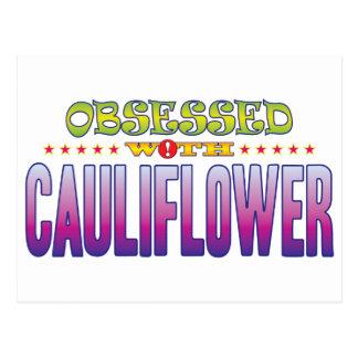 Cauliflower 2 Obsessed Postcard