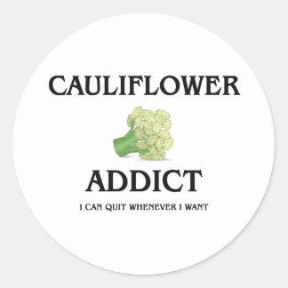 Cauliflower Addict Sticker