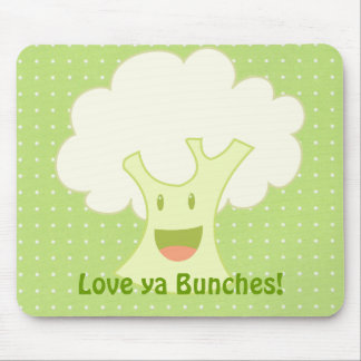 Cauliflower Bunch Mouse Pad