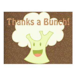 Cauliflower Bunch Postcard