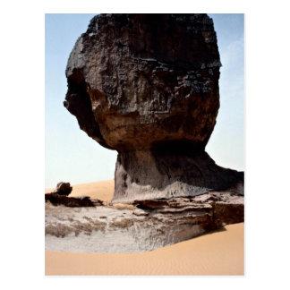 Cauliflower head erosion, Algeria rock formation Postcard