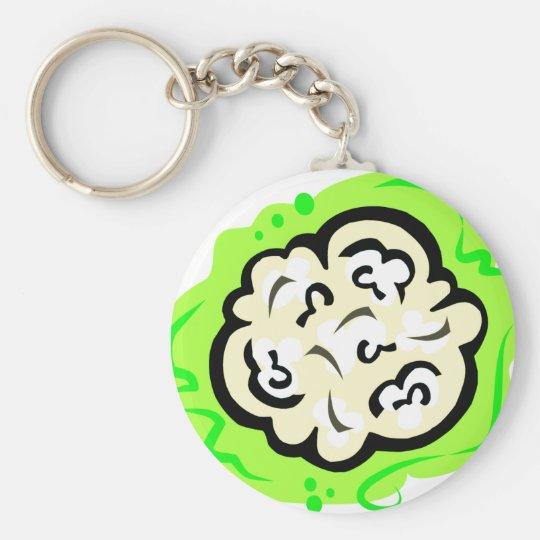 Cauliflower Keychain