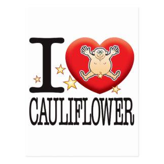Cauliflower Love Man Postcard