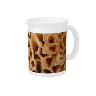 Cauliflower Mushroom Drink Pitcher