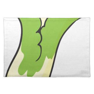 cauliflower cloth place mat