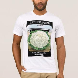 Cauliflower Seed Packet Label T-Shirt