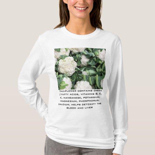 cauliflower womens hoodie