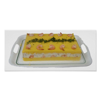 Causa con Cangrejo - Peruvian Causa with Crabmeat Poster