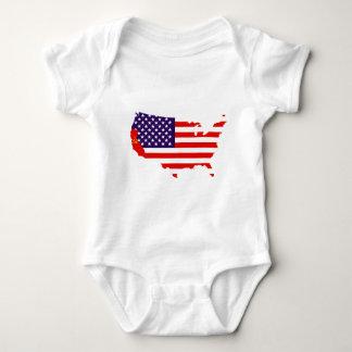 CAUSA_Flags Baby Bodysuit