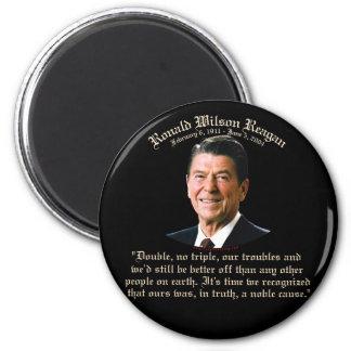 Causa noble de Reagan Imán Redondo 5 Cm