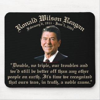 Causa noble de Reagan Tapete De Ratón