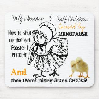 Causado por el cojín de ratón de la menopausia 2 alfombrillas de ratones