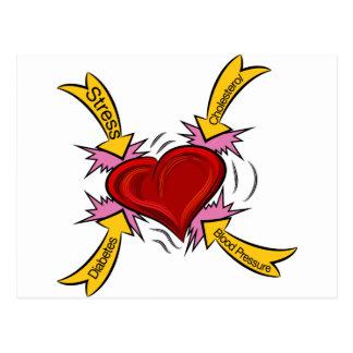 Causas del ataque del corazón postal