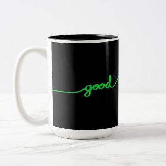Causas respetuosas del medio ambiente del buen taza de dos tonos