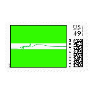 Causas respetuosas del medio ambiente del buen timbres postales